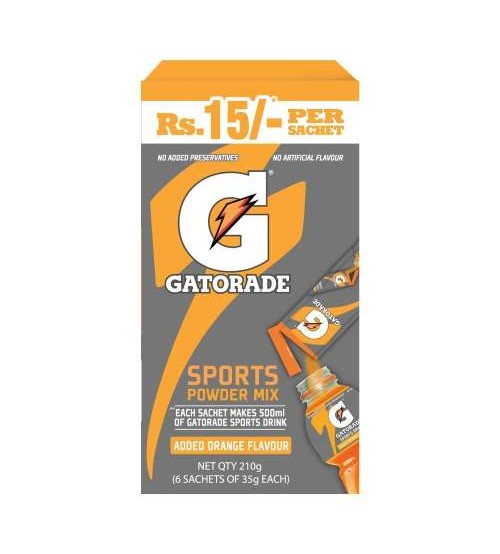 Gatorade Sports Mix Orange 210gm