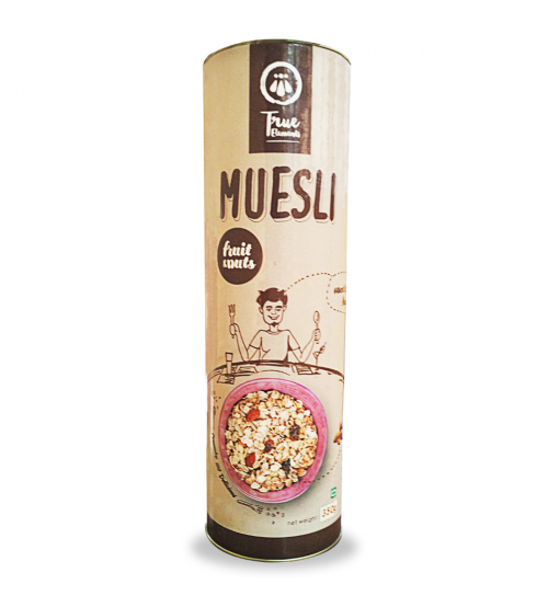 True Elements Fruit And Nut Muesli 350gm